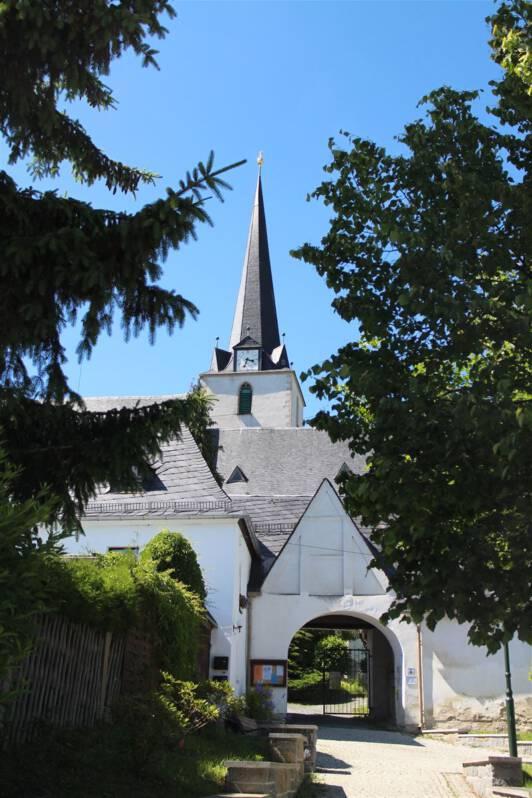 Die barocke Bergkirche Schleiz