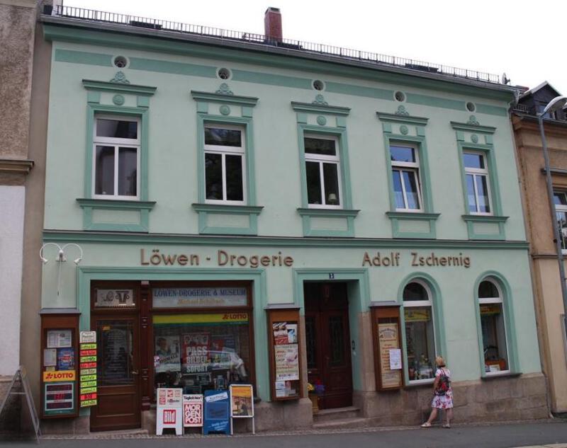Ein Kleinod in Oelsnitz – das Drogeriemuseum in der Löwendrogerie