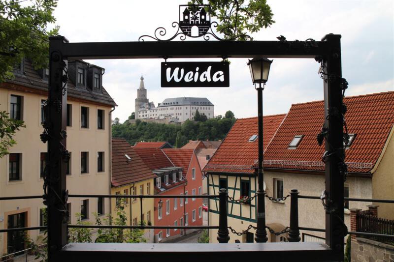 Aussichtspunkt Die Osterburg in Weida - die Wiege des Vogtlands