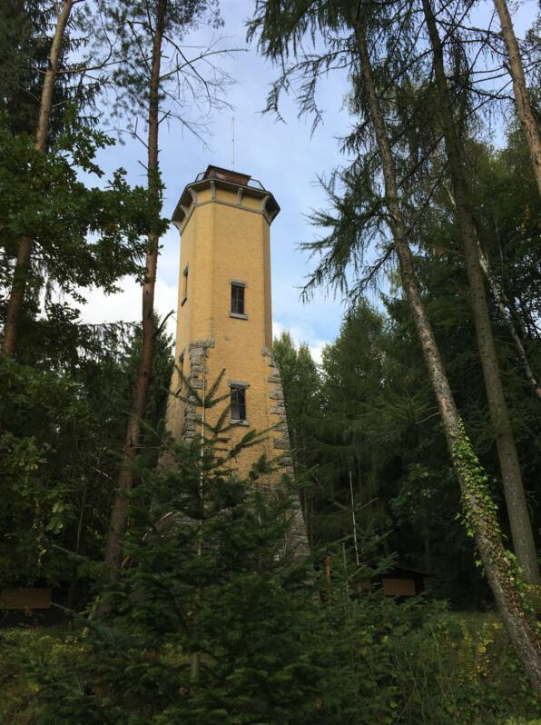 Blick ins Vogtland vom Perlaser Turm