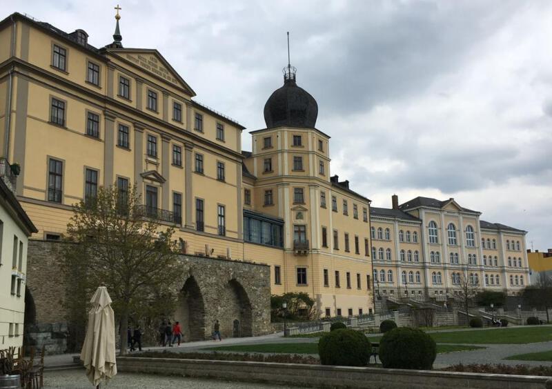 Das Untere Schloss in Greiz