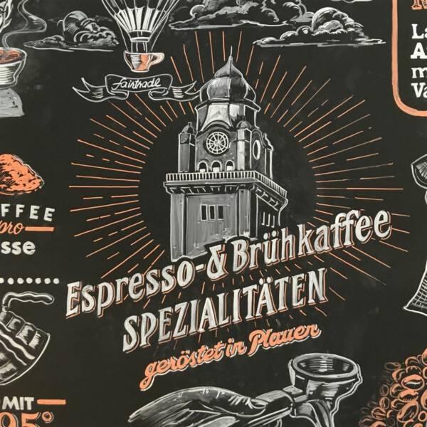 Neue Kaffeerösterei in Plauen Vogtland Sachsen Café