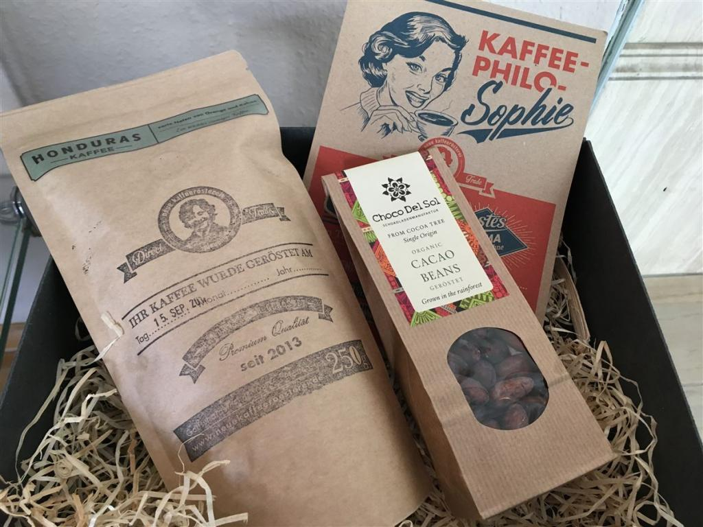 Souvenir aus Plauen - Kafee aus der Neuen Kaffeerösterei
