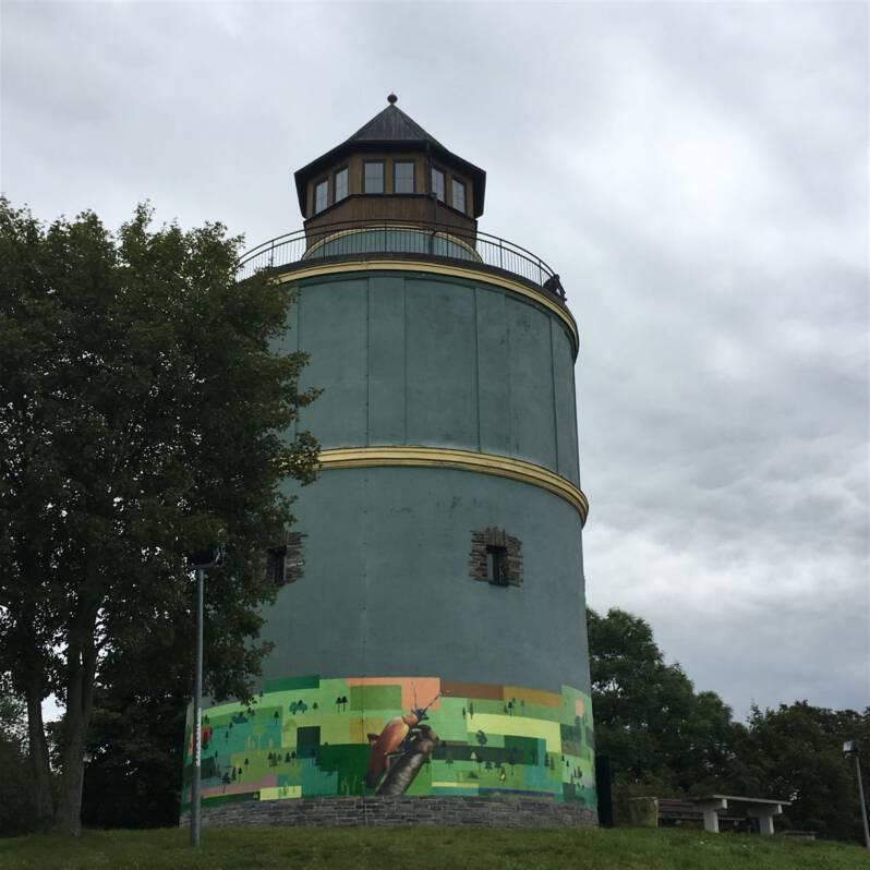 Ausflugstipp für Plauen - Wasserturm in Neundorf
