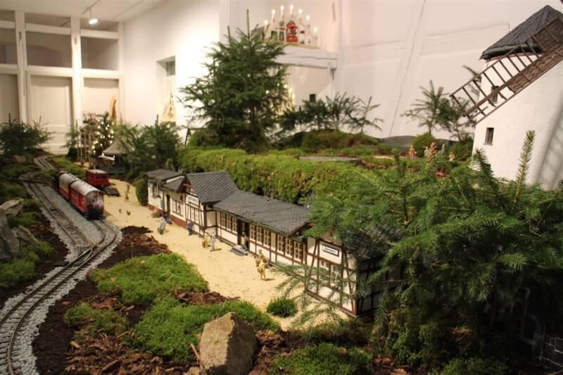 Ausflugsziel für die Weihnachtszeit - die Weihnachtsausstellung im Vogtlandmuseum in Plauen im Vogtland