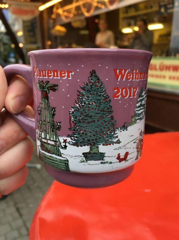 Weihnachtsmarkt in Plauen