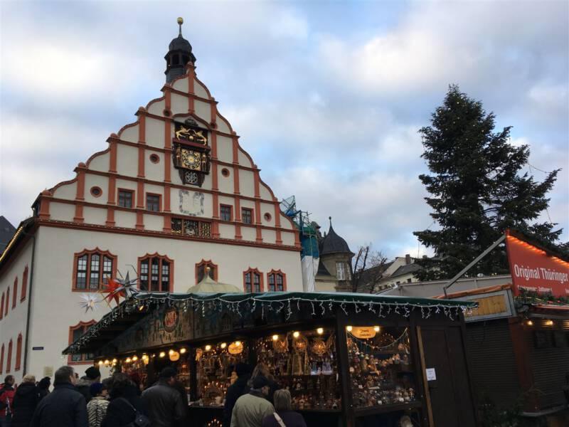 Weihnachtsmarkt Plauen im Vogtland - Ausflugstipp