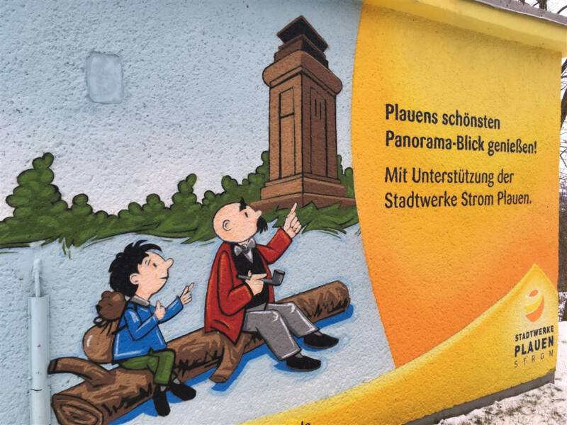Plauen - Vogtland der Kemmlerturm