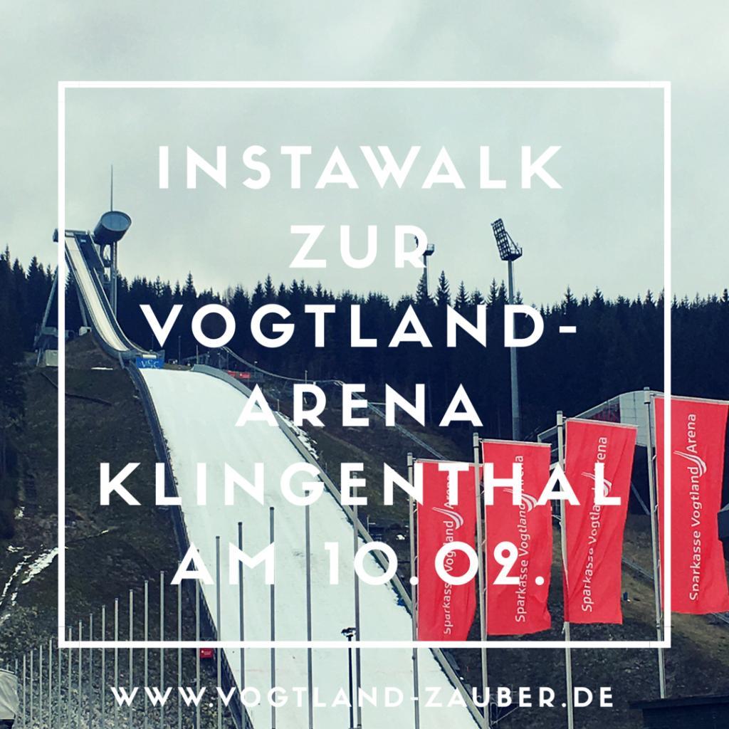 Instawalk zu den schönsten Ecken in Sachsen - Klingenthal im Vogtland