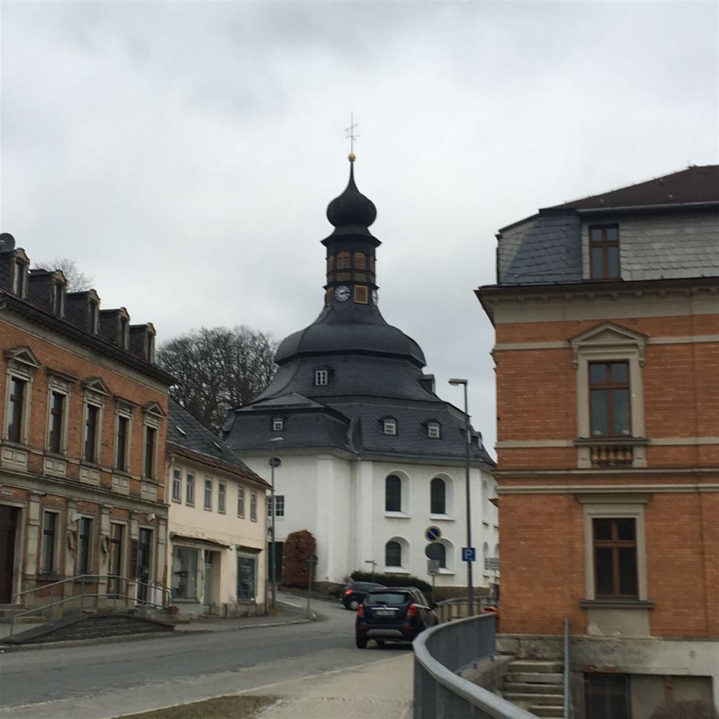 Rundkirche in Klingenthal im Vogtland / Sachsen