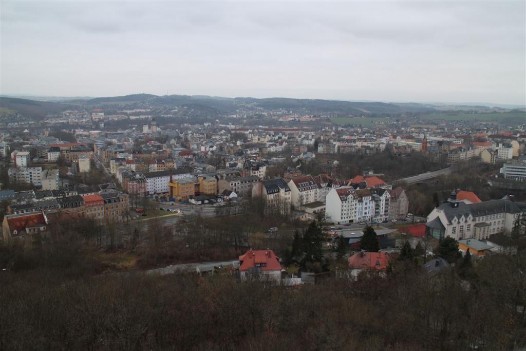 Ausflug in Plauen -Vogtland - Sachsen - der Bärensteinturm