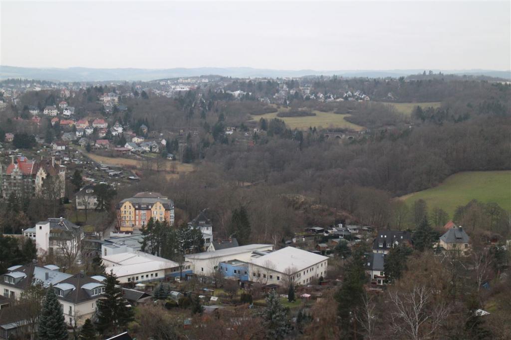 Ausflug in Plauen -Vogtland - Sachsen - Blick vom Bärenstein