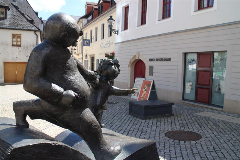Die Galerie e.o.plauen im Erich Ohser Haus in Plauen