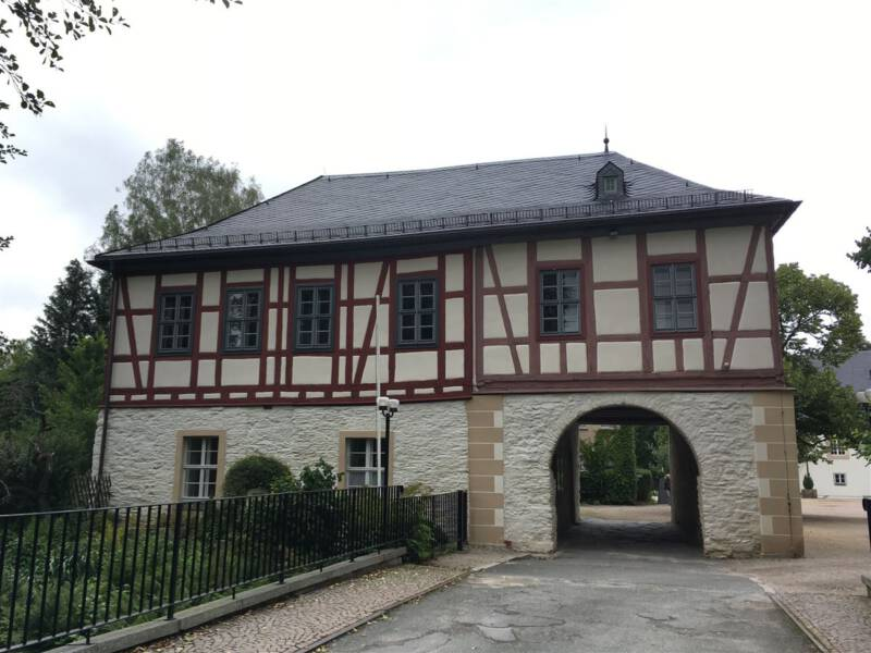 Ausflugsziel im Vogtland - Die Schlossinsel in Rodewisch