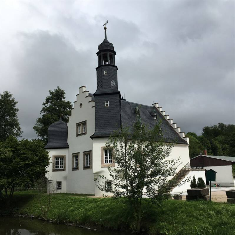 Die Schlossinsel Rodewisch – Renaissanceidylle im Vogtland