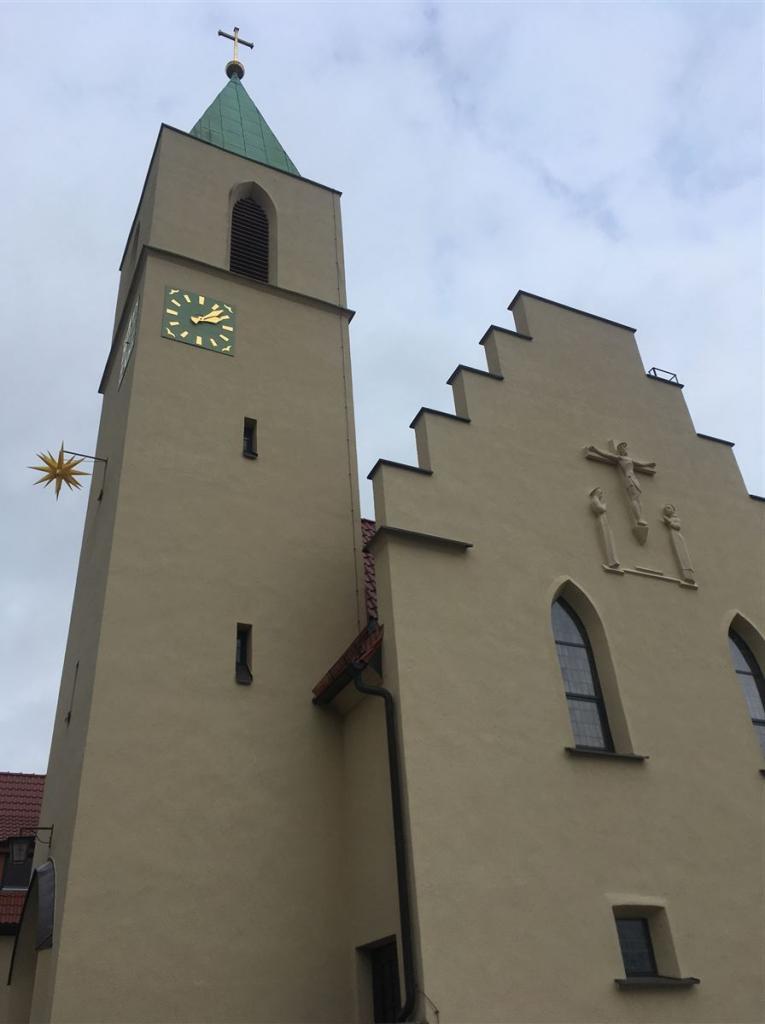 Architekt Rudolf Ladewig - neue Sachlichkeit in Reichenbach im Vogtland - Marienkirche