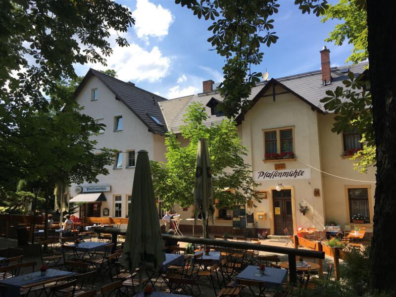 Ausflugsziel in der Nähe von Plauen im Vogtland - die Gaststätte Pfaffenmühle
