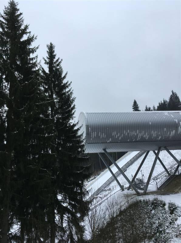 Ausflugstipp - Schanze Vogtland Arena Klingenthal / Vogtland / Sachsen