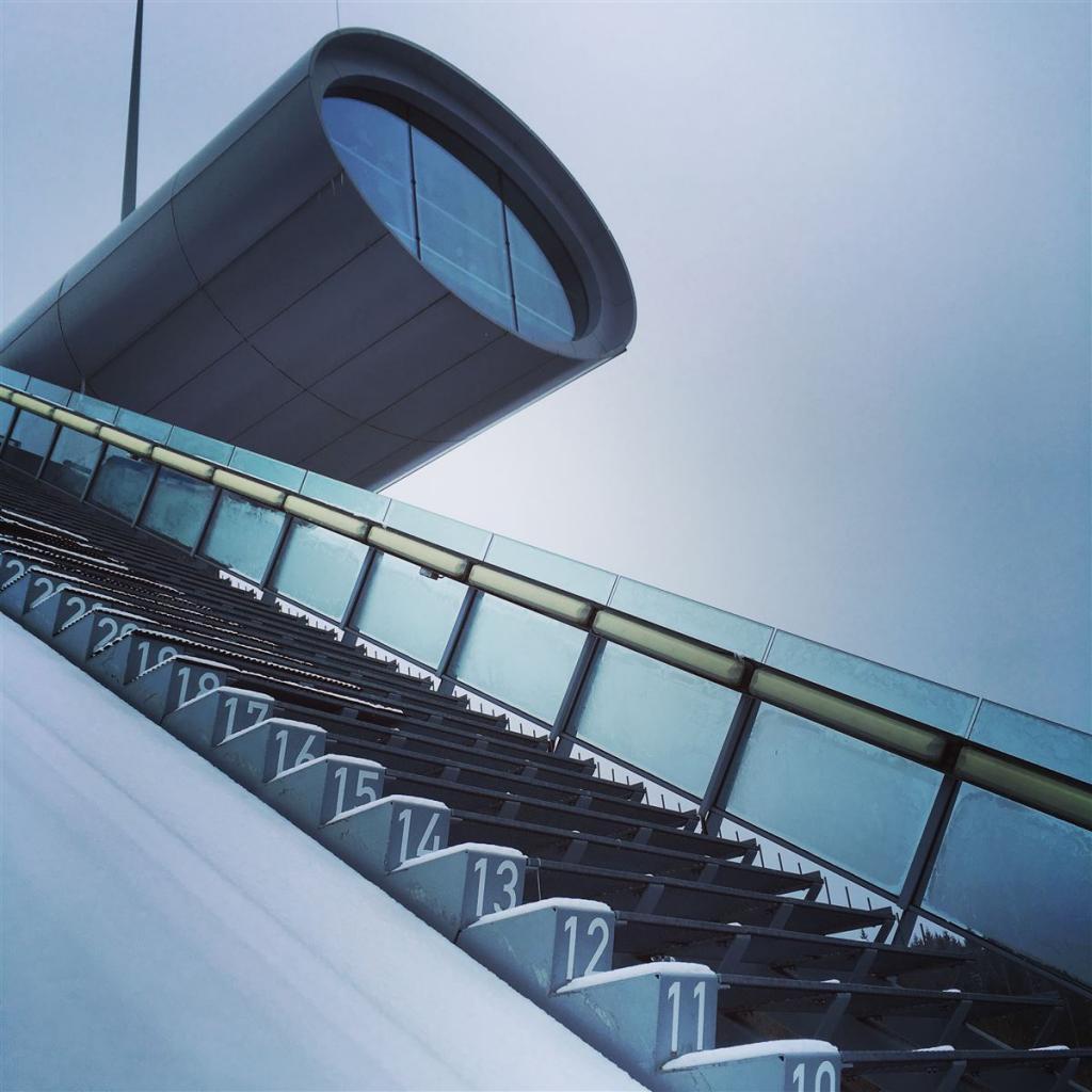 Vogtlandarena Klingenthal - Ausflug zur Weltcup-Schanze