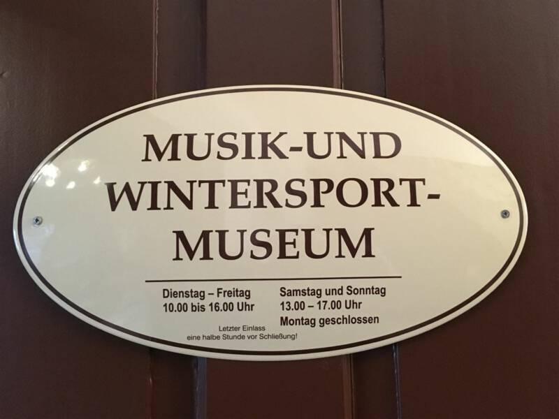 Ausflugsziel für die ganze Familie - Musik- und Wintersportmuseum in Klingenthal / Vogtland / Sachsen