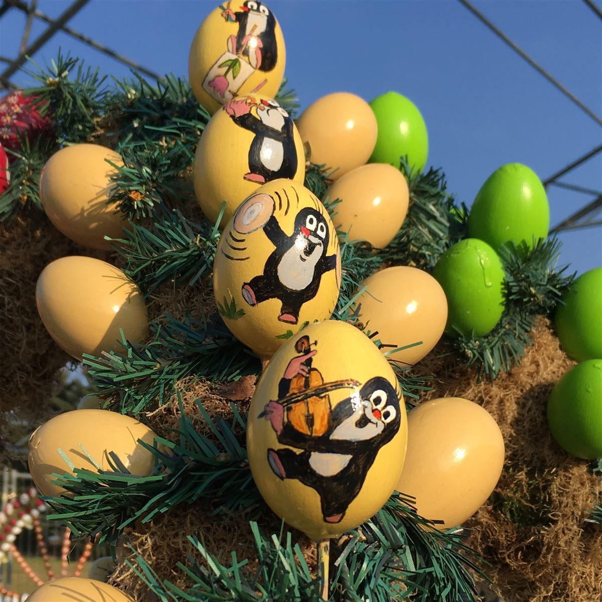Osterpfad Vogtland - Zahlreiche unterschiedliche Ostereier begeistern die Besucher