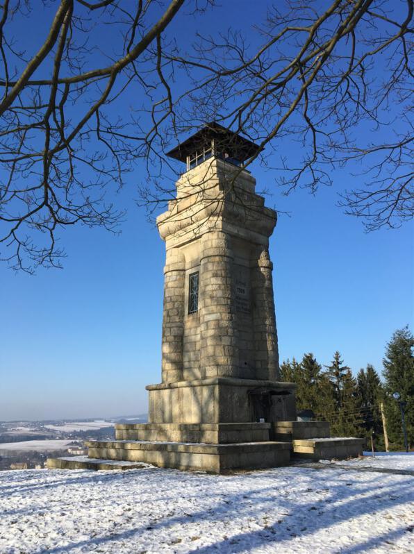 Ausflug zum Bismarckturm in Markneukirchen
