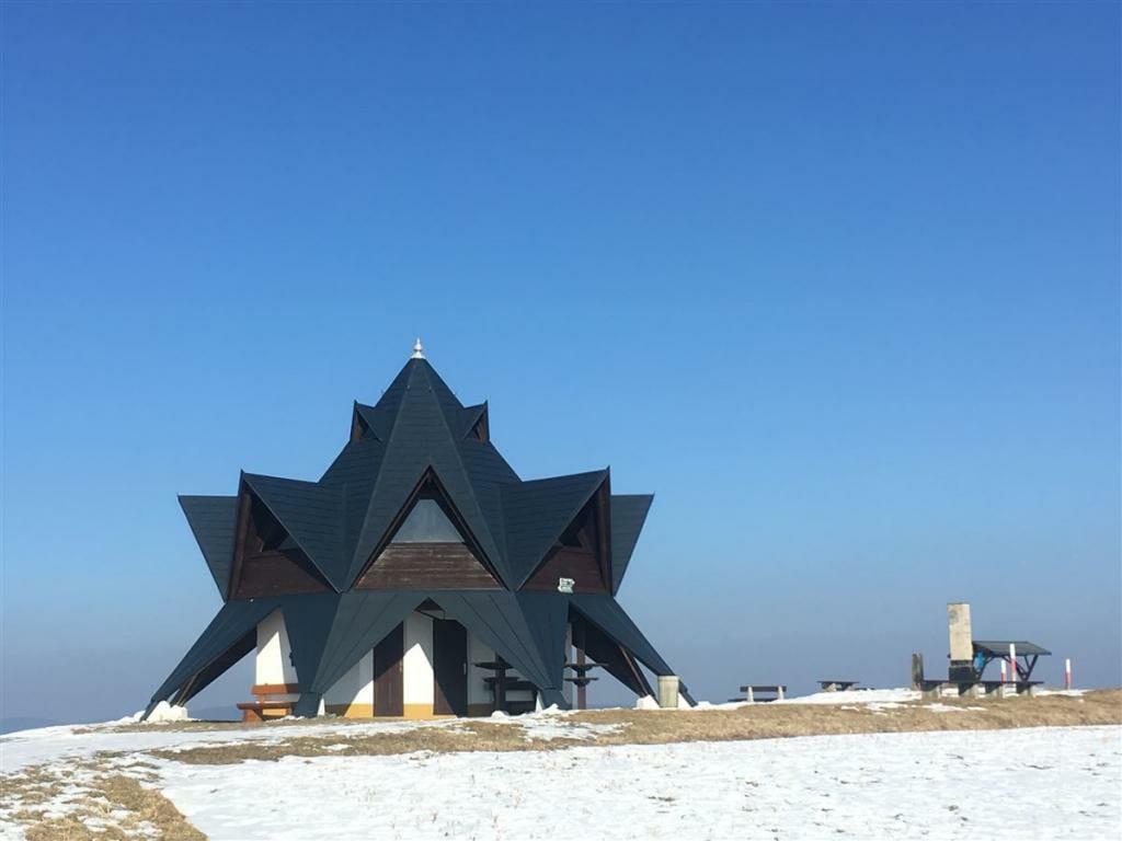 Ausflugsziel im oberen Vogtland - der Aussichtsturm auf dem Wirtsberg - interessante Architektur von Benno Kolbe