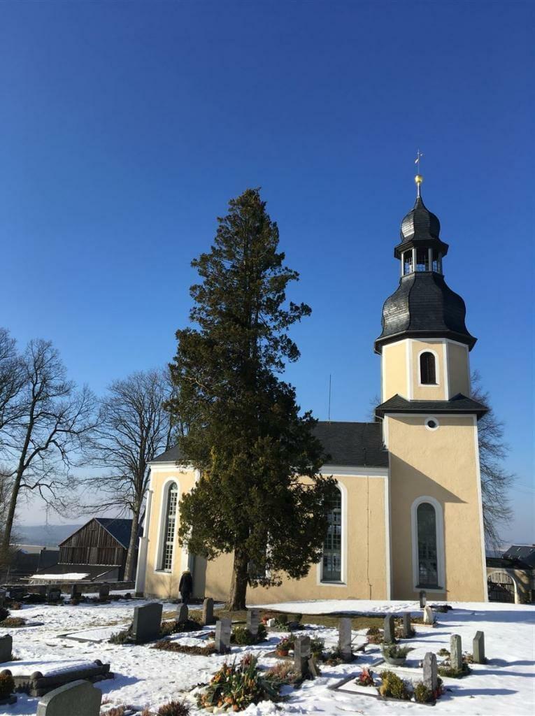 Die Kirche von Landwüst