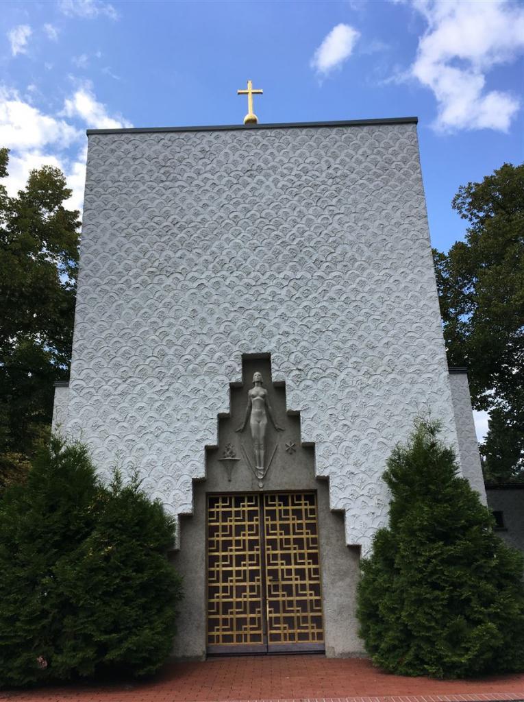 Architekt Ladewig in Reichenbach - das Krematorium