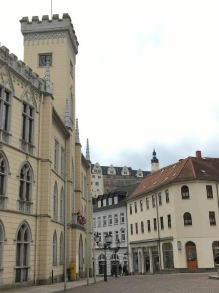 Ausflugstipp zu Ostern - Osterpfad Vogtland - Greiz -Rathaus