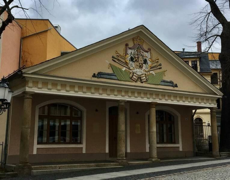 Ausflugstipp im Vogtland / Thüringen – Stadtrundgang in Greiz - Alte Wache