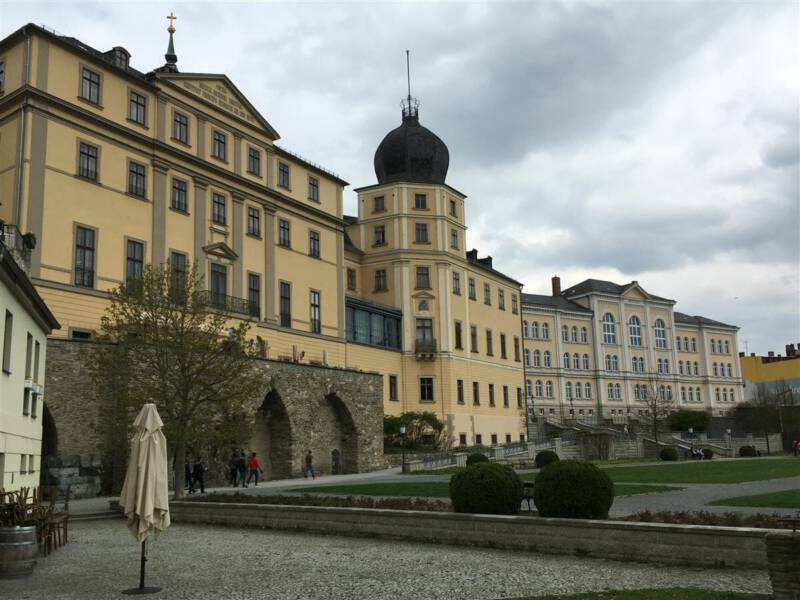 Ausflugstipp im Vogtland / Thüringen – Stadtrundgang in Greiz - Unteres Schloss