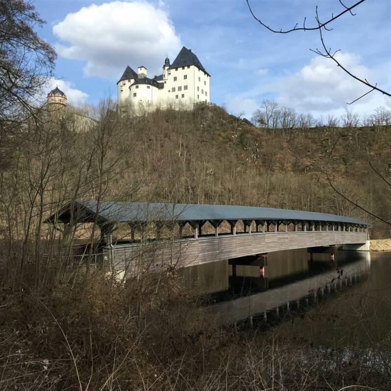 Ausflugsziel - Schloss Burgk im thüringischen Vogtland - Burgen und Schlösser im Vogtland