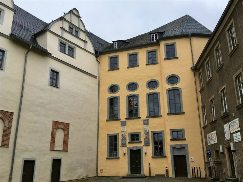 Ausflugsziel - Oberes Schloss in Greiz / Vogtland / Thüringen