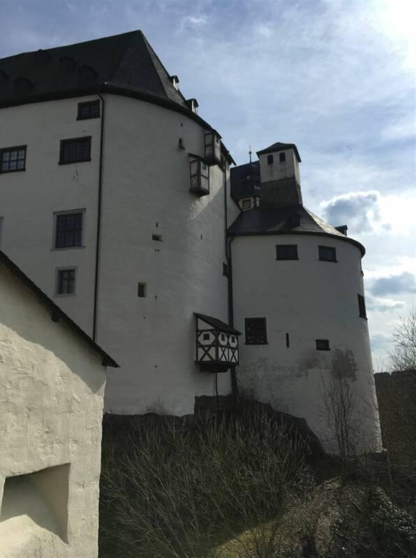 Ausflugsziel - Schloss Burgk im thüringischen Vogtland