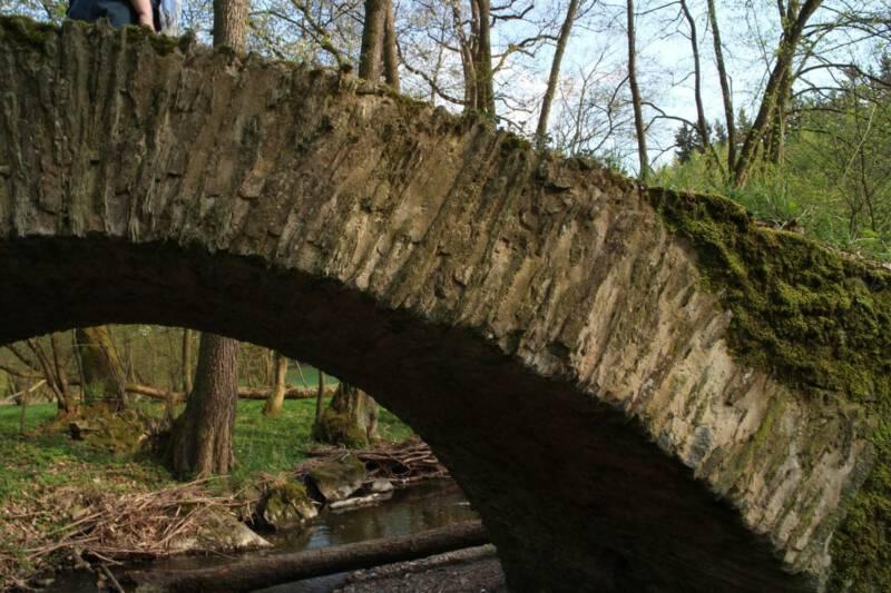 Schafbrücke im Kemnitzbachtal - Wanderung - Sachsen - Vogtland