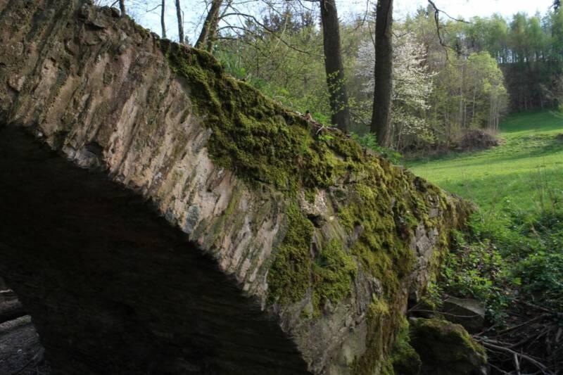 Ausflug zur Schafbrücke bei Geilsdorf | Kemnitzbachtal zwischen Pirk und Ruderitz im Vogtland