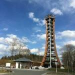 Ein außergewöhnlicher Aussichtsturm – der Saaleturm in Burgk