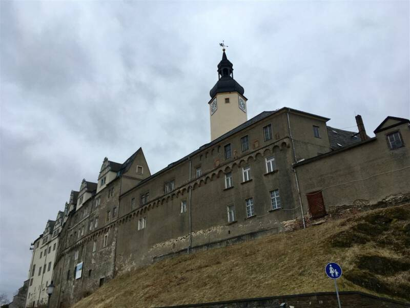 Das Obere Schloss in Greiz