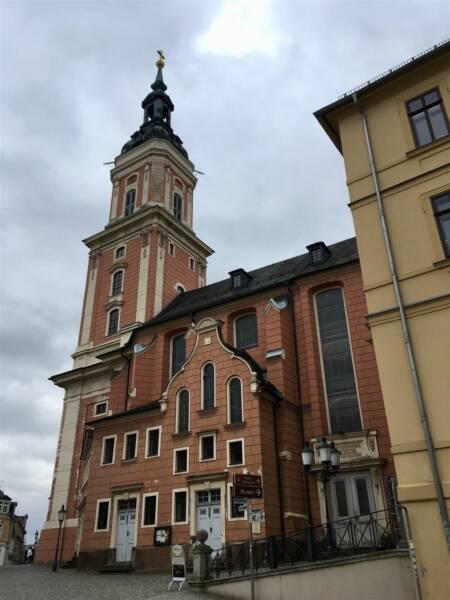 Marienkirche in Greiz - Stadtrundgang - Ausflug Vogtland