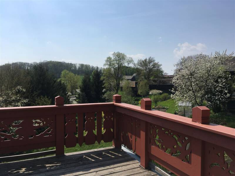 Das Hermann-Vogel-Haus in Krebes - Sehenswertes im Vogtland / Sachsen