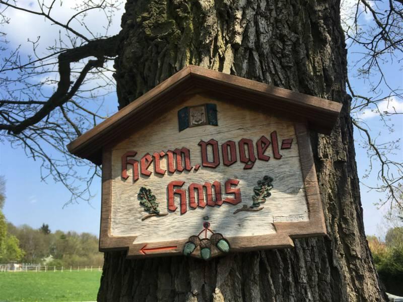 Das Hermann-Vogel-Haus in Krebes - Wandern im Vogtland