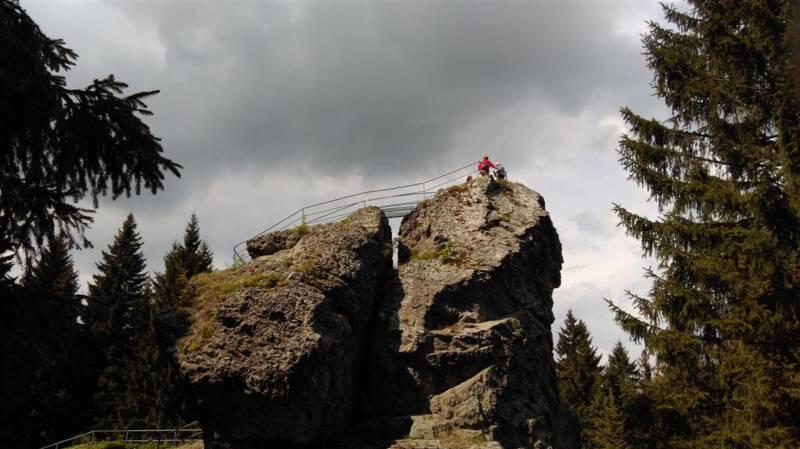 Wanderung zum Schneckenstein im Vogtland