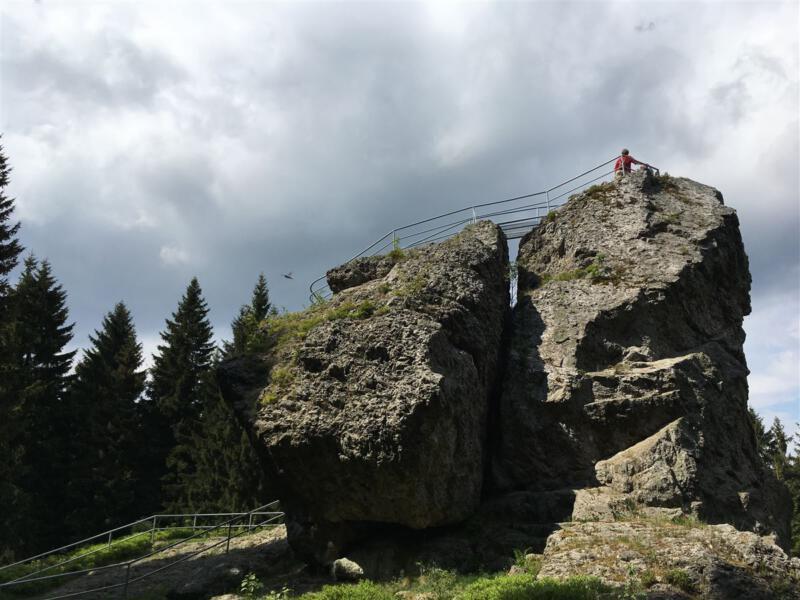 Topasfelsen Schneckenstein – wandern im Vogtland Sachsen
