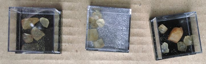Sächsische Diamanten - Topas gewonnen aus dem Felsen in Schneckenstein