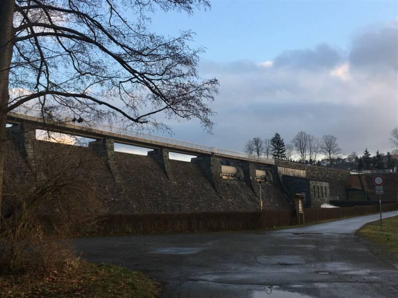Campen, Baden, Wandern und mehr an der Talsperre Pirk / Vogtland / Sachsen
