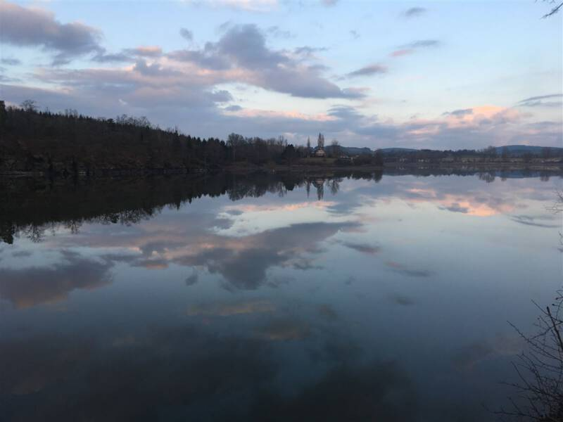Sehenswertes im Vogtland - die Talsperre Pirk