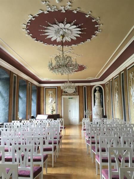 Ausflugstipp - Schloss Leubnitz - Vogtland - Sachsen - Weißer Saal