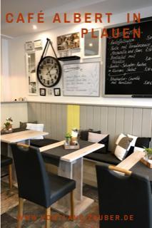 Cafe Albert in Plauen - unser Tipp für Kaffee, Kuchen Eis und Genuss