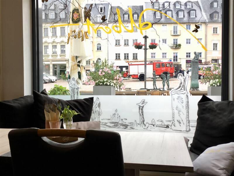 Cafe Albert in Plauen - unser Tipp für ein gemütliches Kaffeetrinken - Ausflugstipp für Plauen